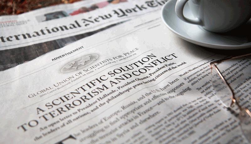 GUSP-Anzeige NYT