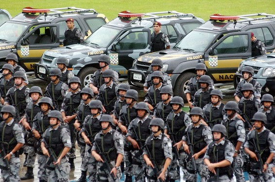 Brasiliens Polizei